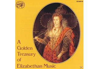 VARIOUS - A Golden Treasury of Elizabethan - (CD)