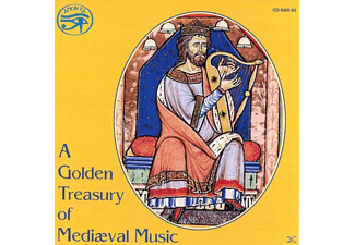 Sine Nomine Ensemble For Medie - A Golden Treasury of MedievalMusic - (CD)