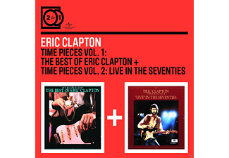 Eric Clapton - 2 For 1: Time Pieces Vol.1: The Best of Eric Clapton / Time Pieces Vol.2: Live in the Seventies - (CD)