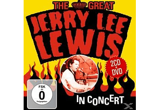 Jerry Lee Lewis - The Great Jerry Lee Lewis In Concert - (CD + DVD)