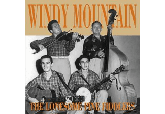 The Lonesome Pine Fiddlers - Windy Mountain - (CD)