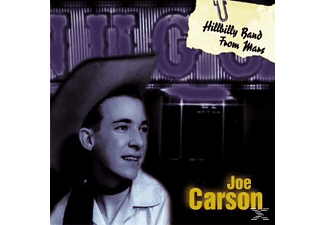 Joe Carson - Hillbilly Band From Mars - (CD)