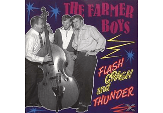 The Farmer Boys - Flash, Crash & Thunder - (CD)