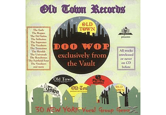 Various - Old Town Doo Wop Exclusively F - (CD)