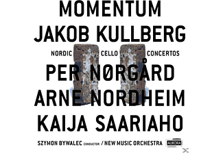 Kullberg Jakob, Szymon Bywalec, Mew Music Orchestra - Momentum - Nordic Cello Concertos - (CD)