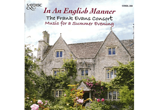 The Frank Evans Consort - In An English Manner - (CD)