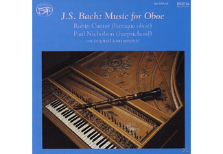 Nicholson Canter - Music for Oboe - (CD)