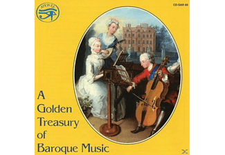 VARIOUS - A Golden Treasury of Baroque Musi - (CD)