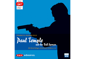 Francis Durbridge - Paul Temple und der Fall Spencer - (MP3-CD)