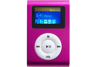 DIFRNCE DF-MP 855, MP3 Player, 4 GB, Akkulaufzeit: 7 Std., Pink