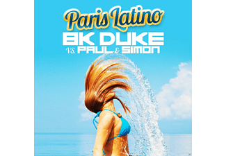 BK DUKE VS. PAUL & SIMON - Paris Latino - (Maxi Single CD)