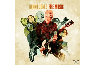 Danko Jones - Fire Music (Lim.Orange Vinyl) [Vinyl]