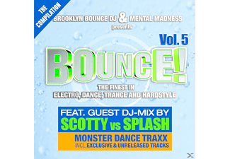 VARIOUS - Brooklyn Bounce Dj & Mental Madness Pres.Bounce 5 - (CD)