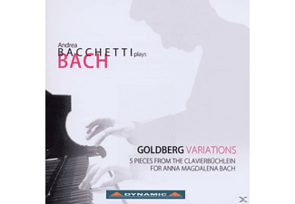 Andrea Bacchetti - Goldbergvariationen - (CD)