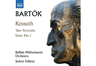 BUFFALO PHILHARMONIC ORCHESTRA/FALL - Kossuth/Two Portraits/Suite 1 - (CD)