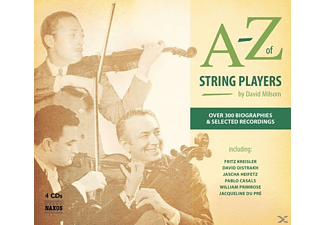 VARIOUS - A-Z of String Players - (CD + Buch)