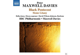 BBC PHILHARMONIC ORCHESTRA/MAXWELL - Black Pentecost/Stone Litany - (CD)