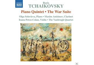 Olga The Vanbrugh Quartet/solovieva - Klavierquintett/War Suite,The - (CD)