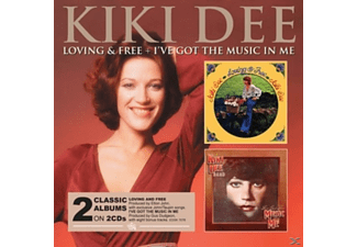 Kiki Dee - Loving And Free & I've Got The Music In Me [CD]