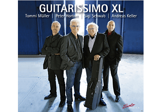 Peter Horton, Sigi Schwab, VARIOUS - Guitarissimo Xl [CD]