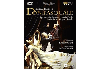 VARIOUS, Muti/Furlanetto/Focile - Don Pasquale - (DVD)