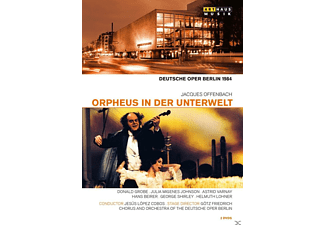 Chorus And Orchestra Of The Deutsche Oper Berlin - Orpheus In Der Unterwelt - (DVD)
