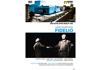 William Dooley, Christa Ludwig, Chor der Deutschen Open Berlin, Orchester Der Deutschen Oper Berlin, James King, Lisa Otto - Fidelio (Deutsche Oper Berlin 1963) - (DVD)