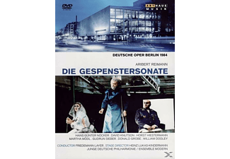 VARIOUS, Junge Deutsche Philharmonie, Ensemble Modern - Die Gespenstersonate - (DVD)