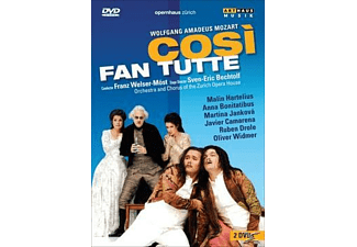 Peter Ustinov - Cosi fan tutte- Salzburger Marionettentheater [DVD]
