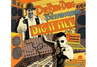Dreadsquad, Dr. Ring-Ding - Dig-It-All - (CD)