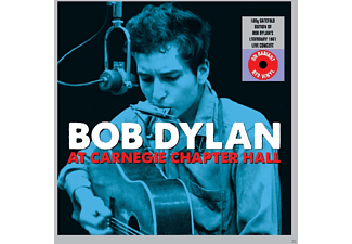 Bob Dylan - Carnegie Chapter Hall - (Vinyl)