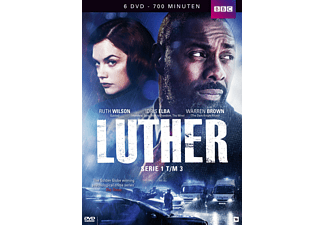 Luther - Serie 1 t/m 3 | DVD