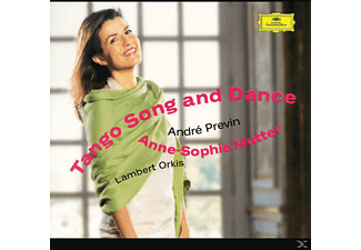 André Previn, Anne-Sophie Mutter, Lambert Orkis, Mutter,Anne-Sophie/Orkis,Lambert/Previn - Tango Song And Dance - (CD)