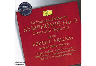 Ferenc Fricsay, Ferenc/bp Fricsay - Sinfonie 9/+ - (CD)