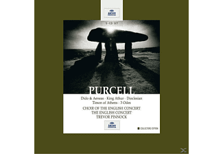 Ec, Otter/Dawson/Pinnock/EC/+ - Dido And Aeneas/King Arthur/Dioclesian/Timon/+ [CD]