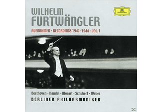 Wilhelm Furtwängler, Wilhelm & Berliner Philharmoniker Furtwängler - Recordings 1942-1944 Vol.1 [CD]