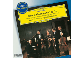 The Quartetto Italiano, Maurizio/quartetto Italiano Pollini - Klavierquintett Op.34 - (CD)
