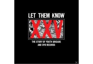 Various/Let Them Know (CD+Book+DVD) - The Story Of Youth Brigade & Byo - (DVD + CD)