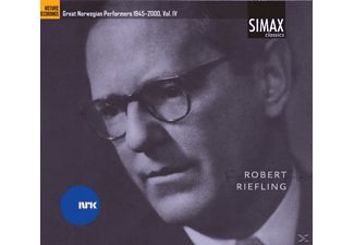 Robert Riefling - Great Norwegian Performers 1945-2000 Vol. Iv [CD]