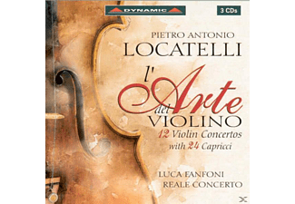 Violin And Conductor-rea Fanfoni Luca - L'arte del Violino op.3 - (CD)