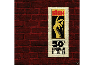 VARIOUS - Stax 50: A 50th Anniversary Celebration [CD]