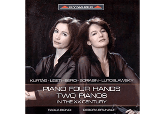 Paola Biondi - Piano four Hands two Pianos in the XX Century - (CD)