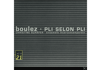 Christine Schäfer, Schäfer,Christine/Boulez,Pierre/EIC - Pli Selon Pli [CD]