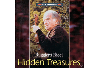 Violin-noriko Shiozaki Ruggiero Ricci - Hidden Treasures - (CD)