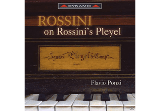 Piano Flavio Ponzi - Rossini On Rossini's Pleyel - (CD)