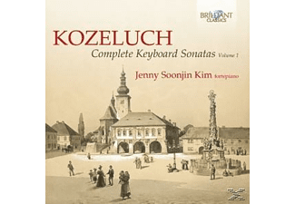 Jenny Soonjin Kim - Complete Keyboard Sonatas Vol.1 [CD]