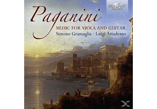 Simone Gramaglia, Luigi Attademo - Music For Guitar And Viola - (CD)