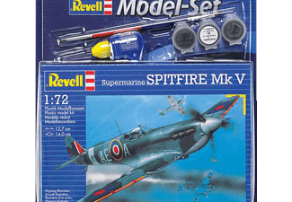 REVELL 64164 Model Set Spitfire Mk V