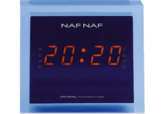 CRYSTAL NafNaf Radiowecker (AM, FM, Blau)