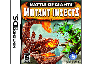 ESEN Combat Giants Mutant Insects DS Nintendo